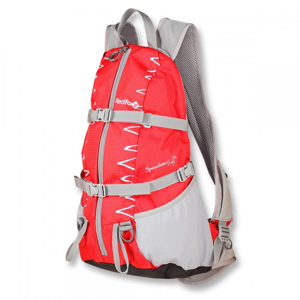Рюкзак RedFox Speedster 14 R-2Active подвесная система. Грудной фиксатор лямок. Боковые стяжки. 2 объемных кармана на поясе. Возможность размещения питьевой системы. Анатомический поясной ремень.<br>