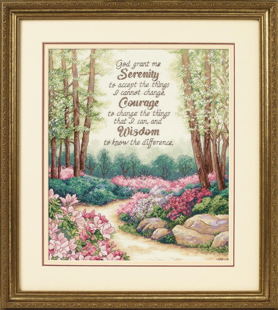 Dimensions Serenity, Courage, and Wisdom (Смирение, смелость и мудрость).35162 СШАНабор для вышивания Dimensions 35162 Serenity, Courage, and Wisdom (Смирение, смелость и мудрость)<br>