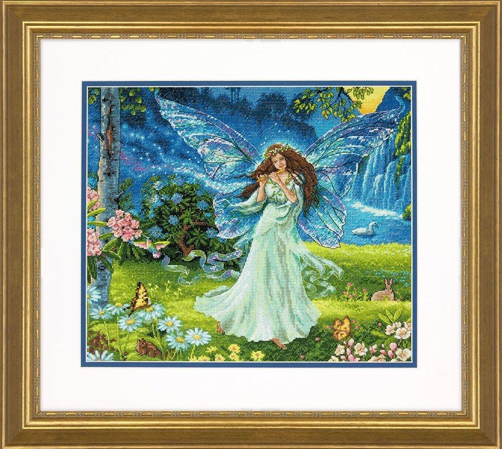 Dimensions Spring Fairy  (Фея весны). Китай.35354Набор для вышивания Dimensions 35354 Spring Fairy (Фея весны)<br>