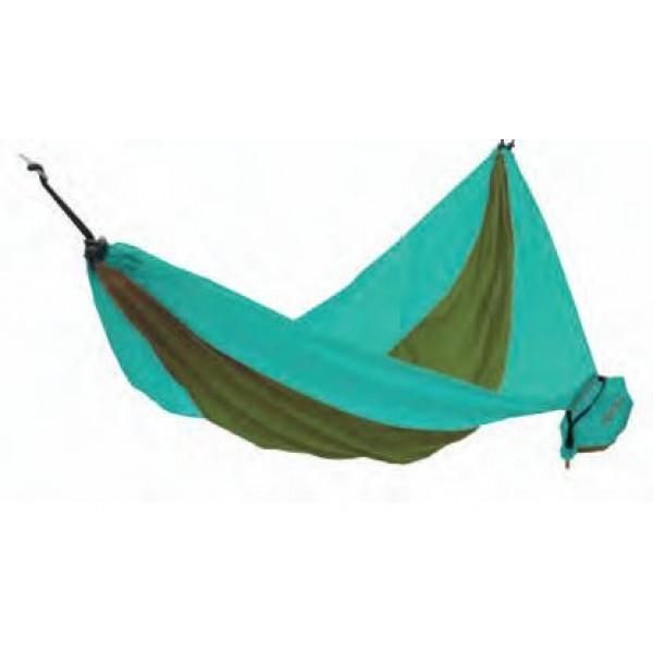 Гамак KingCamp 3753 parachute hammockГамак подвесной текстильный. Ультралёгкий, упаковывается в сумку, пришитую к гамаку.<br><br>Вес кг: 0.50000000