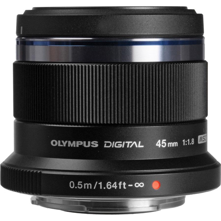 Объектив Olympus 45mm f/1.8 Black-Silverстандартный объектив с постоянным ФР, крепление Micro Four Thirds, автоматическая фокусировка, минимальное расстояние фокусировки 0.5 м, размеры (DхL): 56x46 мм, вес: 116 г<br><br>Вес кг: 0.20000000