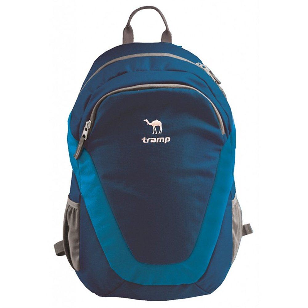 Рюкзак Tramp City 22 blueРюкзак Tramp City - универсальный и легкий городской рюкзак. В основе используется качественный материал Polyester PU Ripstop 450D и усиления Polyester PU Ripstop 600D. Объем данной модели 22 л. Используется вентилируемая спина, молнии YKK и фурнитура Duraflex. Имеется съемный поясной ремень и удобный органайзер для мелочей. Также имеются боковые карманы из сетки. Выпускается в трех цветах: черный, синий, красный.<br>