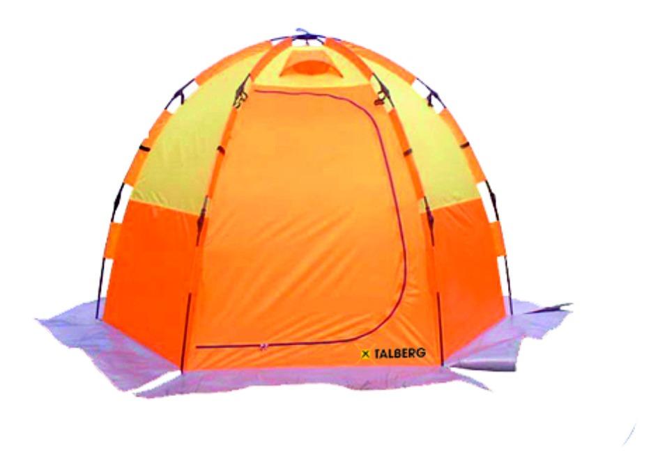 Палатка Talberg Shimano 3Автоматическая однослойная палатка-засидка для зимней рыбалки. Мест: 3<br>Вес: 5,8 кг<br><br>Вес кг: 5.90000000