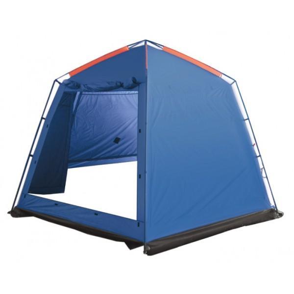 Тент-шатер Sol BungalowПалатка-шатер с двумя входами. Тент оборудован юбкой. Удобные большие размеры. Противомоскитная сетка и убирающаяся защита от дождя. Идеальна для отдыха на открытом воздухе в летнее время, спасает от легкой непогоды, солнца и насекомых<br><br>Вес кг: 7.00000000