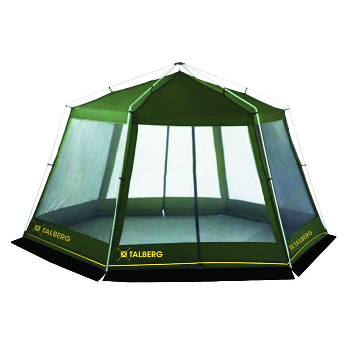 Тент-шатер Talberg ArbourБольшой каркасный шатер без дна, для размещения кухни или столовой.<br><br>Вес кг: 10.00000000