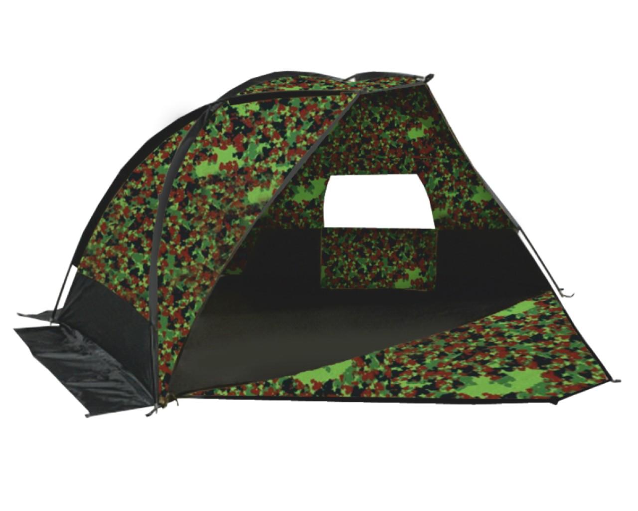 Палатка Talberg Forest Shelter 4Однослойная палатка камуфляжного цвета. Тент: Polyester RipStop 190T/80D 5000  мм. Дно: PE 120 г/м. Юбка: Polyester. Дуги: HQ FiberGlass 8,5 мм. Количество входов: 1. Количество мест: 4. Вес: 3,5 кг. Размеры габаритные: 180 x 220 x 120 см. Сезонность: весна-лето-осень<br><br>Вес кг: 3.50000000