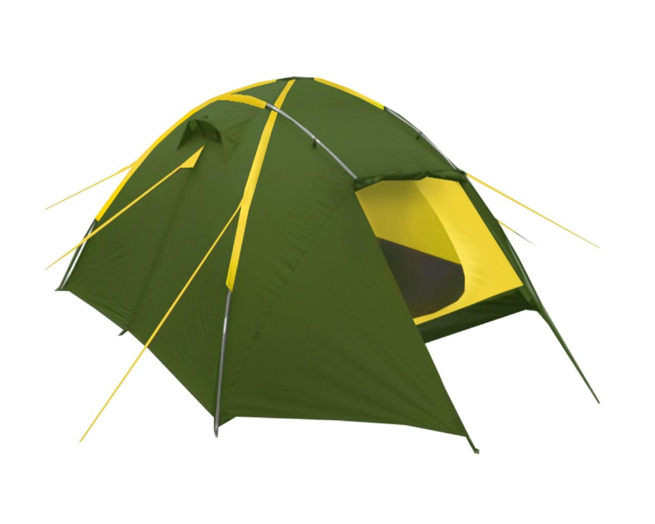 Палатка Talberg Trapper 3Лёгкая двухслойная палатка. Тент: Polyester RipStop 190T/80D 5000  мм. Дно: Polyester 195T/80D  7000 мм. Внутренняя палатка: дышащий Polyester. Дуги: HQ FiberGlass 8,5 мм. Количество входов: 2. Количество мест: 3. Вес: 4,5 кг. Размеры внутренней палатки: 205 x 210 x 120 см. Размеры габаритные: 405 x 220 x 130 см. Сезонность: весна-лето-осень<br><br>Вес кг: 4.50000000