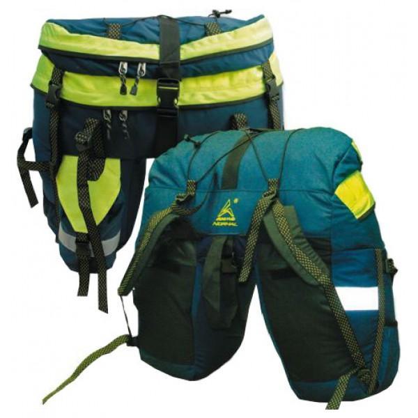 Рюкзак велосипедный Акме 90Рюкзак велосипедный Акме 90 Назначение: Классические велоштаны объемом 90 литров для непродолжительных велопутешествий. Особенности: Световозвращающие полосы расположены как сзади, так и с боков рюкзака. Держит заданную форму за счет жесткого «каркаса» из пеноэтилена в дне и боках рюкзака, прилегающих к колесу. Плотно крепится на багажник велосипеда двумя стропами с помощью специальных пряжек-фастексов: передняя часть стропы крепится за переднюю часть багажника, задняя - за заднюю, соединяются мощным фастексом. Рюкзак надежно закрепляется на багажнике велосипеда всего за 5 секунд!<br>