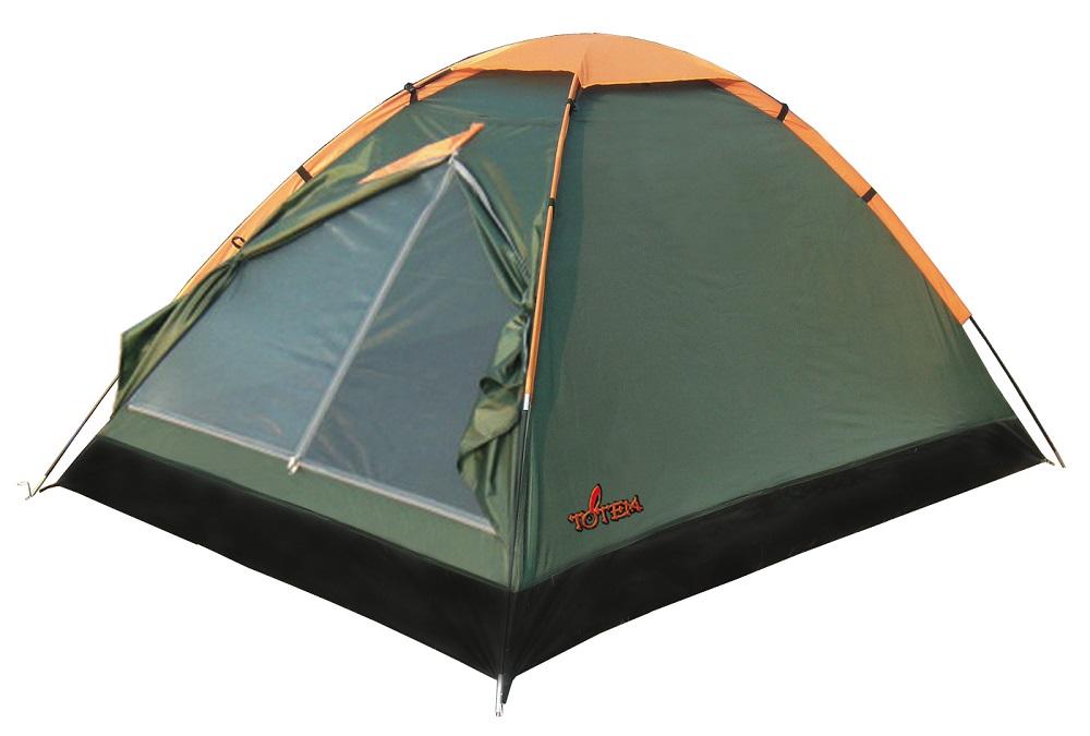 Палатка Totem Summer трекинговаяТрекинговая 2-местная палатка Totem Summer идеальна для простых походов в весеннее, летнее и осеннее время.<br><br><br>Легкая однослойная палатка<br><br>Вход спального отделения продублирован москитной сеткой<br><br>Большой вентиляционный клапан<br><br>Все швы проклеены<br><br>Вес кг: 1.80000000