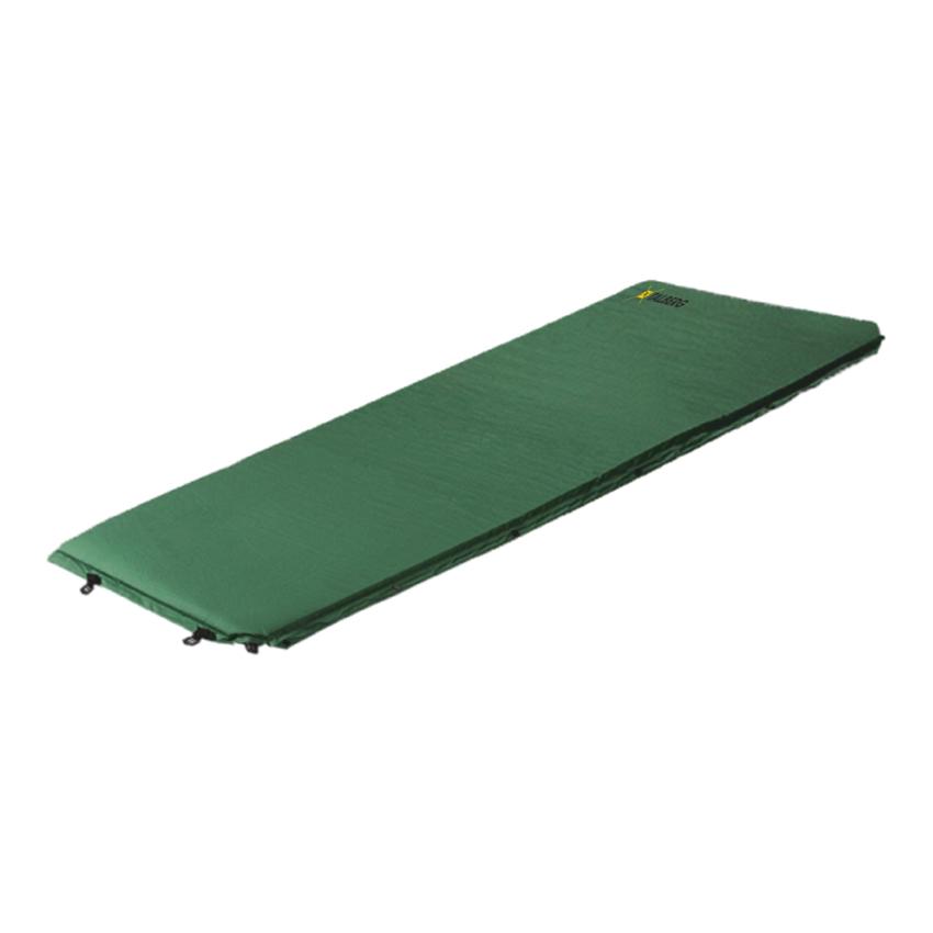 Коврик Talberg Comfort Mat самонадувающийсяСостегивающийся самонадувающийся коврик. Предназначен для пеших походов и кемпинга. Комплектуется чехлом для переноски и хранения, стягивающими ремнями и ремонтным набором.<br><br>Вес кг: 2.10000000