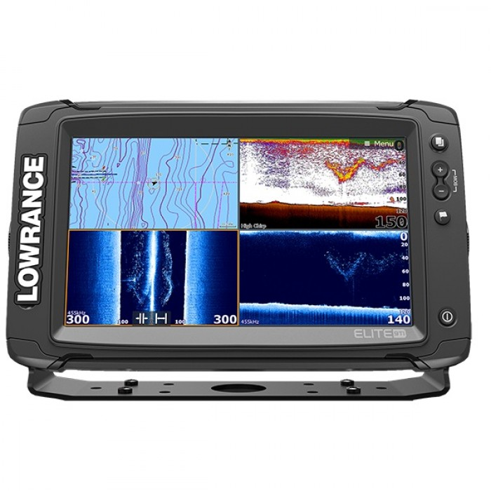 lowrance totalscan transducer mounting